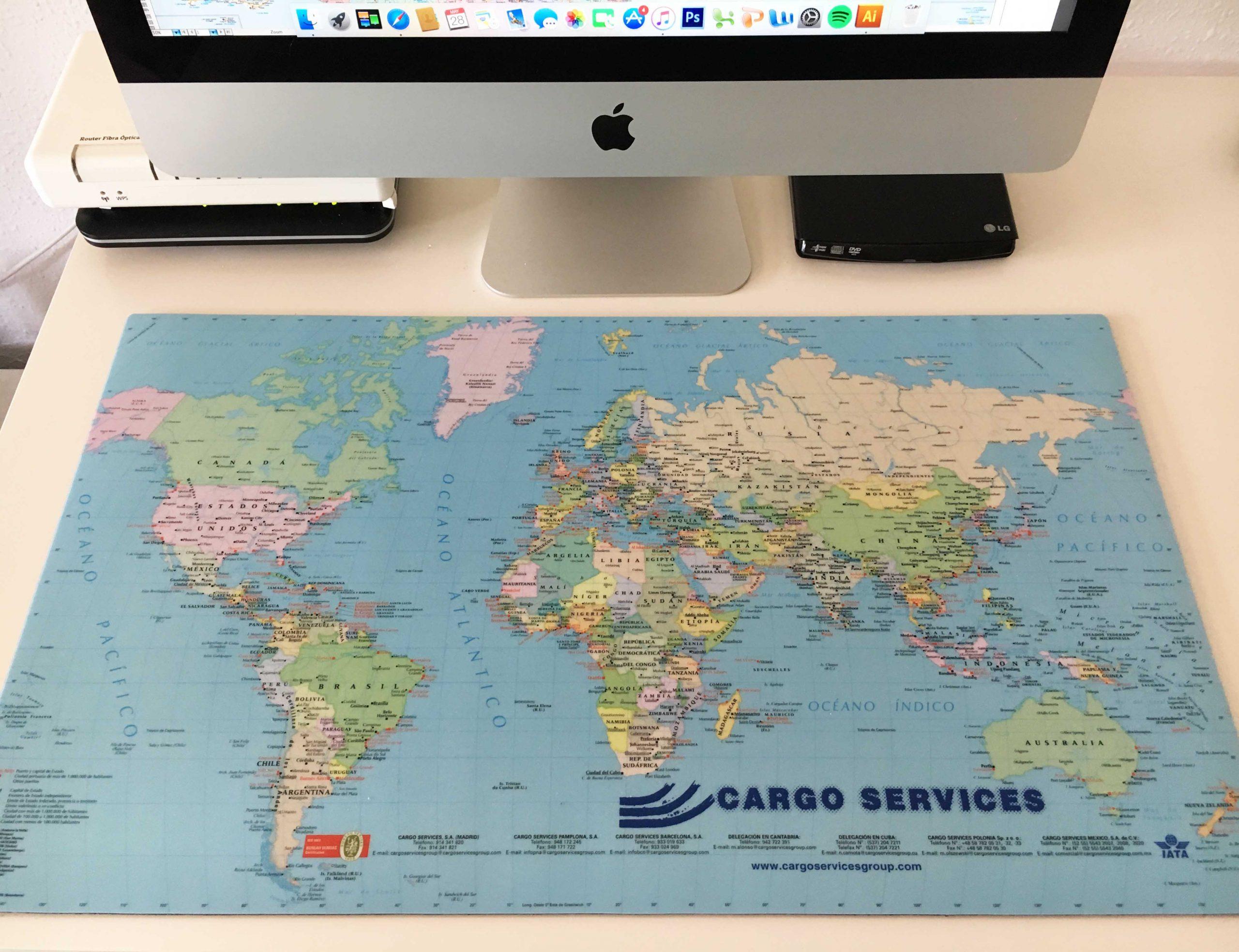 mapas para empresas y negocios