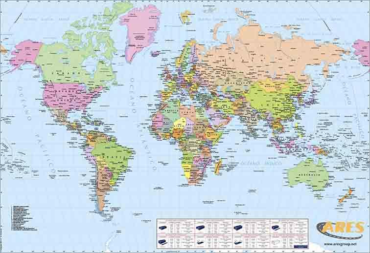mapes per a empreses de transport