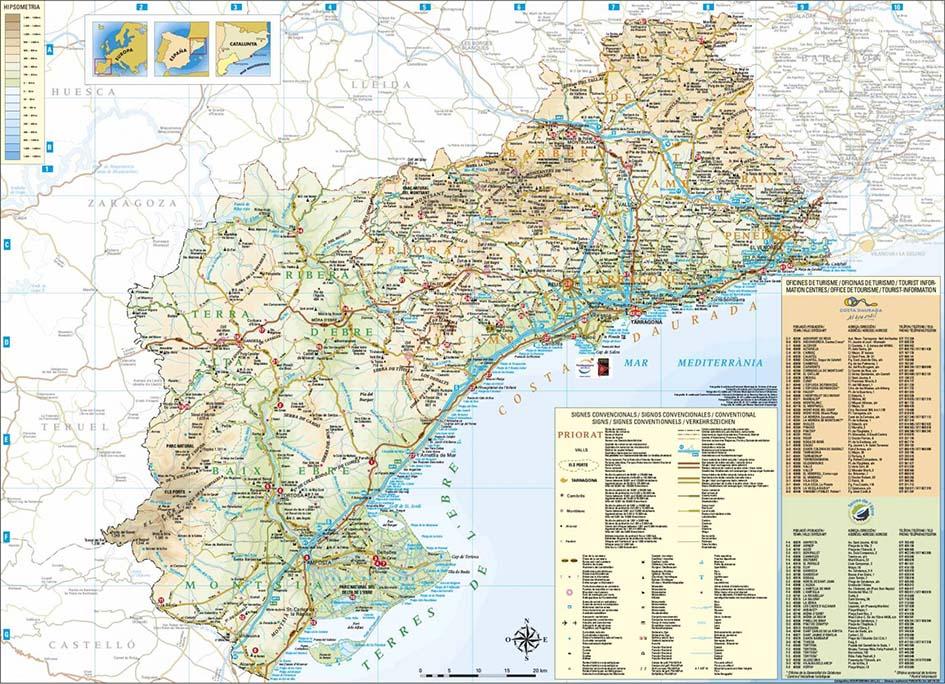 mapes per a ajuntaments i oficines de turisme