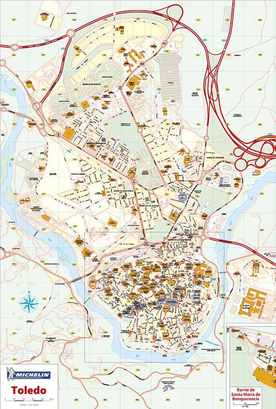 Mapas vectoriales ciudades